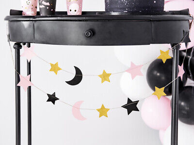 Garland Stars and moons Halloween Decorations Kids Party Baby