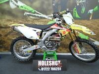 2014 Suzuki RMZ 450 Motocross bike FULL AKRAPOVIC GOLD FORKS ETC ETC