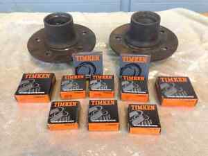 Hubs, bearings and seals.  MOVING MUST SELL