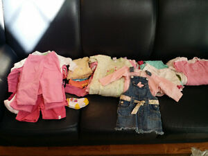 12 Month Baby Girl Lot - Over 45 Pieces!