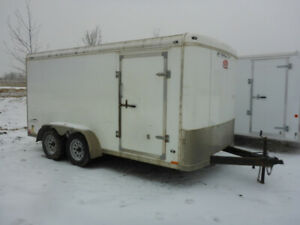 2014 Stealth Liberty 7 Ft x 14 Ft T/A Enclosed Trailer