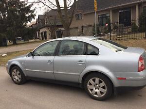 2001 Volkswagen Passat Sedan As Is