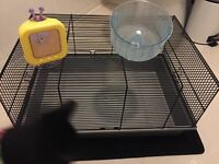 Hamster cage and accessories ONO
