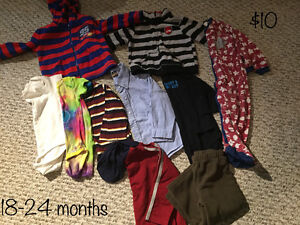 Baby boys clothes size 18-24 months