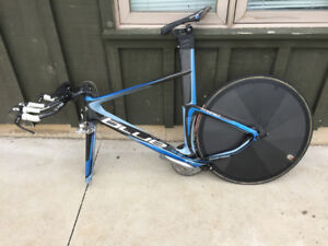 Blue Time trial/Triathlon Bike Sold Pending Payment