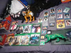 99% • $10 Each XBOX ONE GAMEBOY HOCKEY CARDS HEMAN SEGA VINTAGE