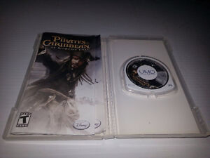 SONY - PSP - UMD - PIRATES OF THE CARIBBEAN AT WORLDS END