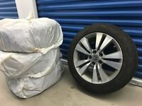 Blizzak LM 32 Winter Tires - 225/50/R17 - on Honda OEM wheels
