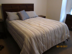 COMPLETE AMAZING REAL WOOD BEDSET