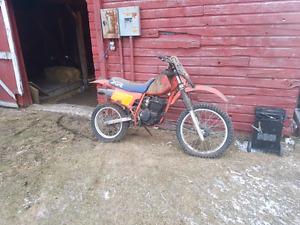 1980s Honda XR200 for parts or repair