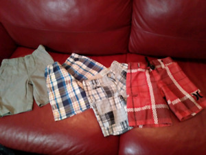 Toddler size 4t summer shorts and fedora hats $30 takes LOT