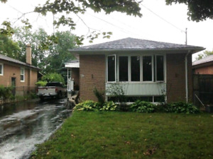 RENOVATED 3 bedroom Etobicoke home available Sept 1st.