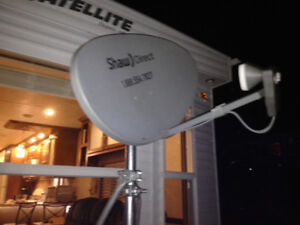 antenne shaw direct avec support