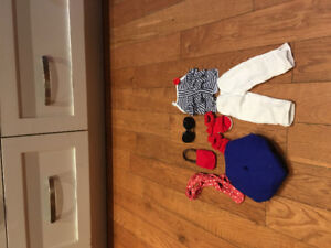 18 inch doll clothes (maplelea doll) $35 great condition