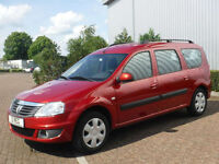 Dacia Logan MCV Laureate 1.6 Petrol & LPG Left Hand Drive (LHD)