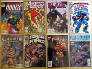 Various Comic Books - Marvel, DC, Independent