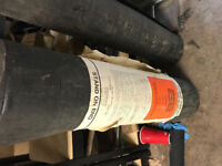 Flat roofing rolls mineral surface roofing