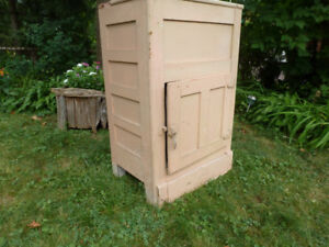 Antique ICE BOX fridge