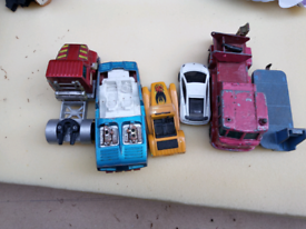 Matchbox corgi toys