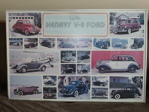 Ford Classic Vehicles Framed Picture
