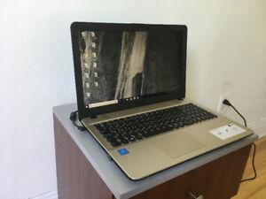 URGENT ! Vends ordinateur ASUS Vivobook 15,6 po (état neuf).
