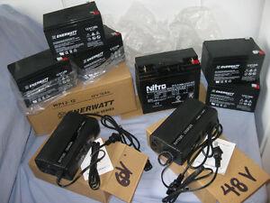 Toutes Batterie Neuve Pour Scooter,Vélo Électrique 12V 12 AH $54