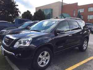 2008 GMC Acadia SL. Black. Well Maintained
