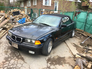1997 BMW convertible swap for project