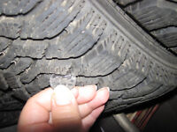 Goodyear 4 Tires. P175/65R-14 Almost Brand New