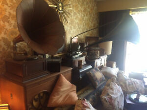 Gramophones | Phonographs | Records HUGE Private Collection Sale