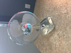 Barely used small fan