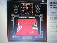 UFC FIGHTERS FRAMED > TOP NAMES > COA'S > MANY STYLES