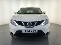 2014 NISSAN QASHQAI TEKNA DCI AUTOMATIC DIESEL 1 OWNER NISSAN SERVICE HISTORY