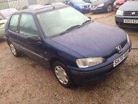 Peugeot 106 petrol cheap 195
