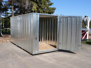 Galvanized Modular & Portable Storage Building 172'' L x 81'' W x 87.5'' H