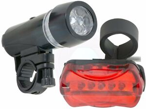 Safety Rear Tail Flashlight Torch Front Head Light Headlight