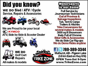 Independent Motorsports Dealer handles Service and Repairs!