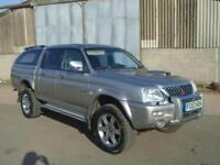 2003 53 Reg Mitsubishi L200 2.5 TD Ltd ( lth ) Warrior