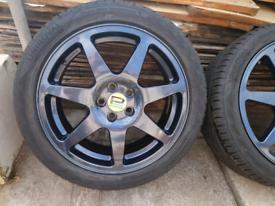 Subaru wheels Speedline