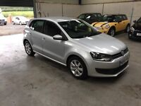 2010 Volkswagen polo 1.4 tdi SE 1 lady owner full service excellant guaranteed cheapest in country