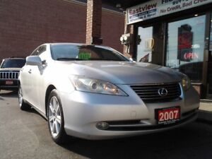 2007 Lexus ES NO ACCIDENT,AUTO,LEATHER,SUNROOF,SMART KEY$6999
