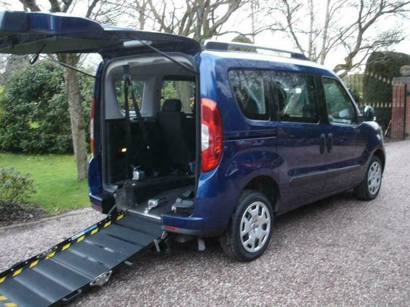 Fiat Doblo 1.6MultiJet Euro 6 Easy Air Wheelchair Access Vehicle Mobility