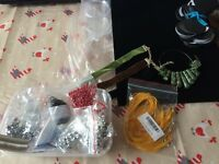 Craft beads storage display joblot clear out