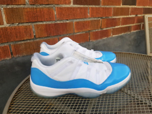 "Jordan 11 Low ""UNC Blue"" Size 14"