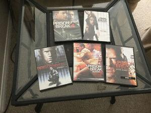 Prison Break- seasons 1-4 plus final break
