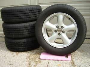 Michelin 215/60R16 95T Tires + Enkei Alloy Wheels