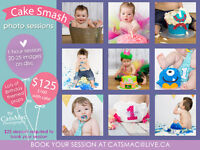 ♥♥♥ Birthday/Cake Smash Sessions by CatsMac Photography ♥♥♥