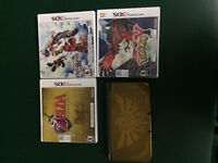 Nintendo 3DS Hyrule Edition with games