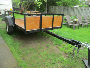 5 Feet by 10 Feet Utility Trailer For Sale