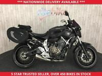 YAMAHA MT-07 MT-07 MT07 ABS SOFT LUGGAGE 1 OWNER 2015 15 PLATE